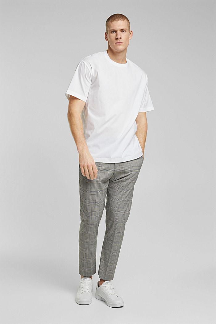 #ReimagineFlexibility: poplin T-shirt, WHITE, detail image number 5