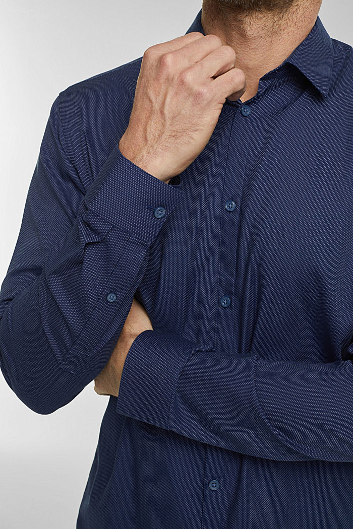 Shirt made of 100% organic cotton, NAVY, detail image number 2