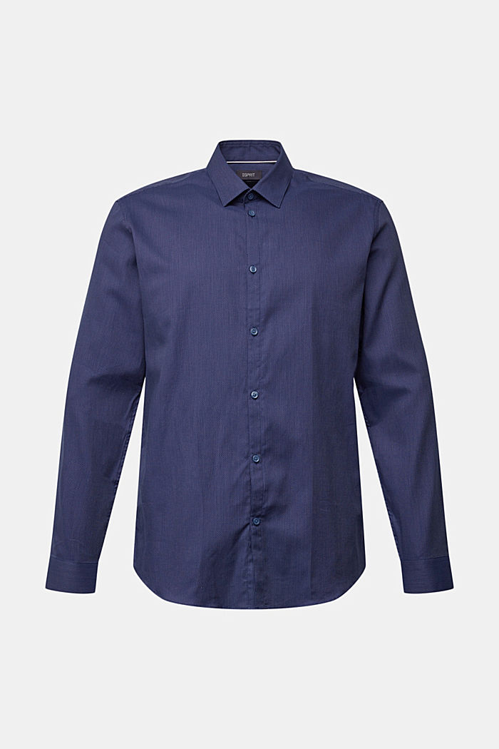 Shirt made of 100% organic cotton, NAVY, detail image number 6