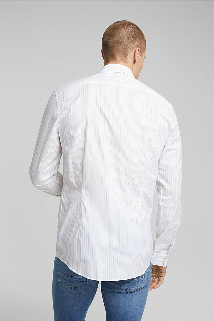 Shirt made of 100% organic cotton, WHITE, detail image number 3