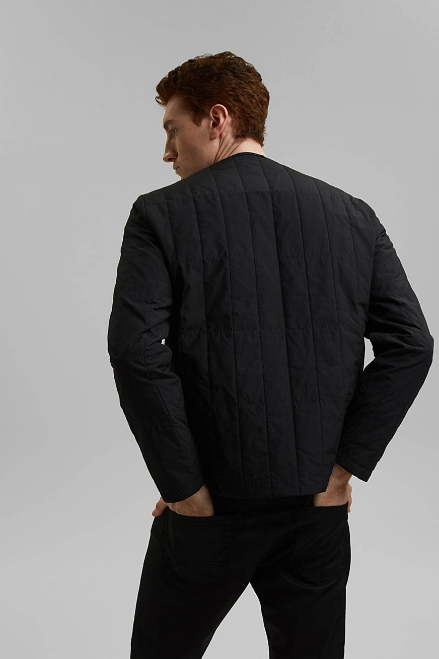 On the move: 2-in-1 quilted jacket with wool wadding