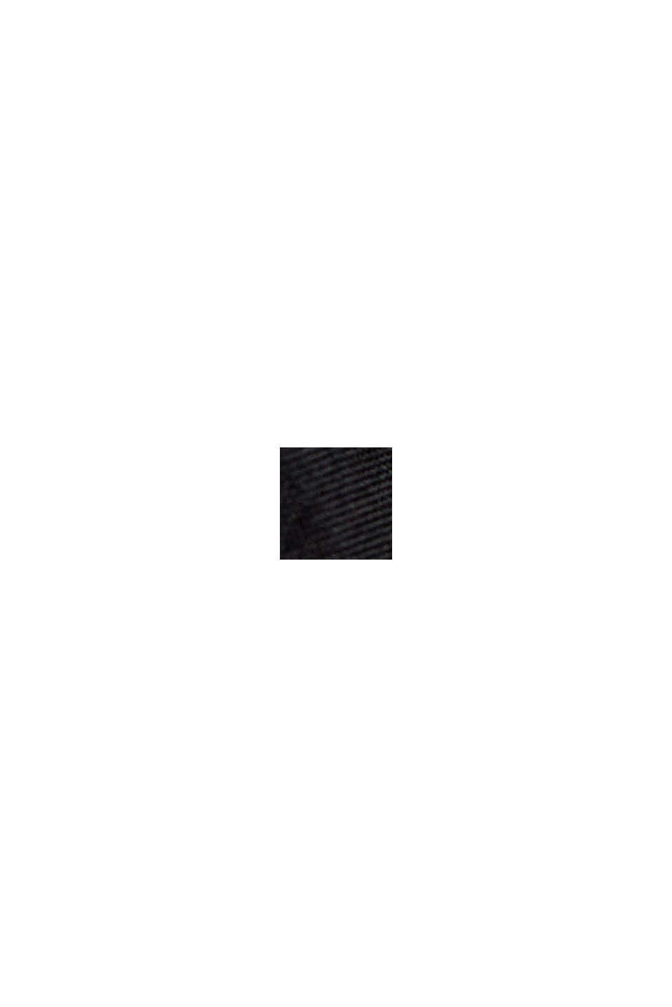 #ReimagineFlexibility Giacca trapuntata 2 in 1 con imbottitura in lana, BLACK, swatch
