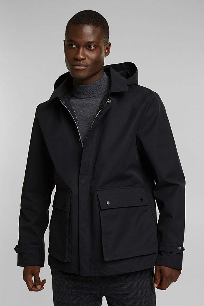 Outdoor jacket, BLACK, detail image number 0