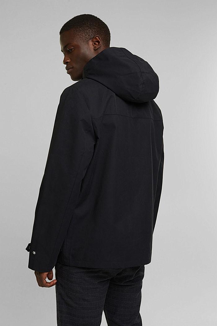Outdoor jacket, BLACK, detail image number 3