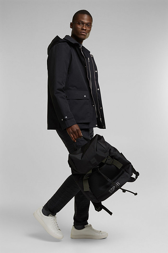 #ReimagineFlexibility 2-in-1 jacket, BLACK, detail image number 1