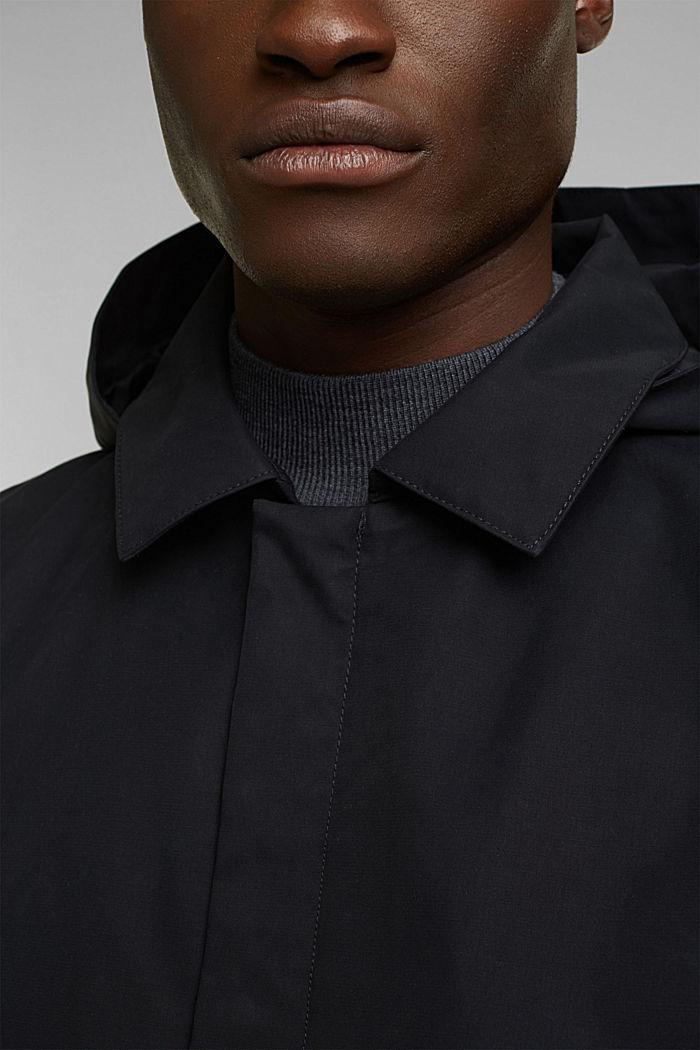 Outdoor jacket, BLACK, detail image number 2