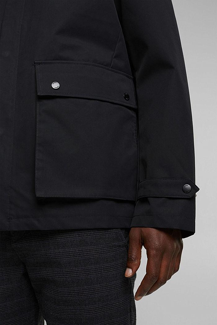 Outdoor jacket, BLACK, detail image number 6