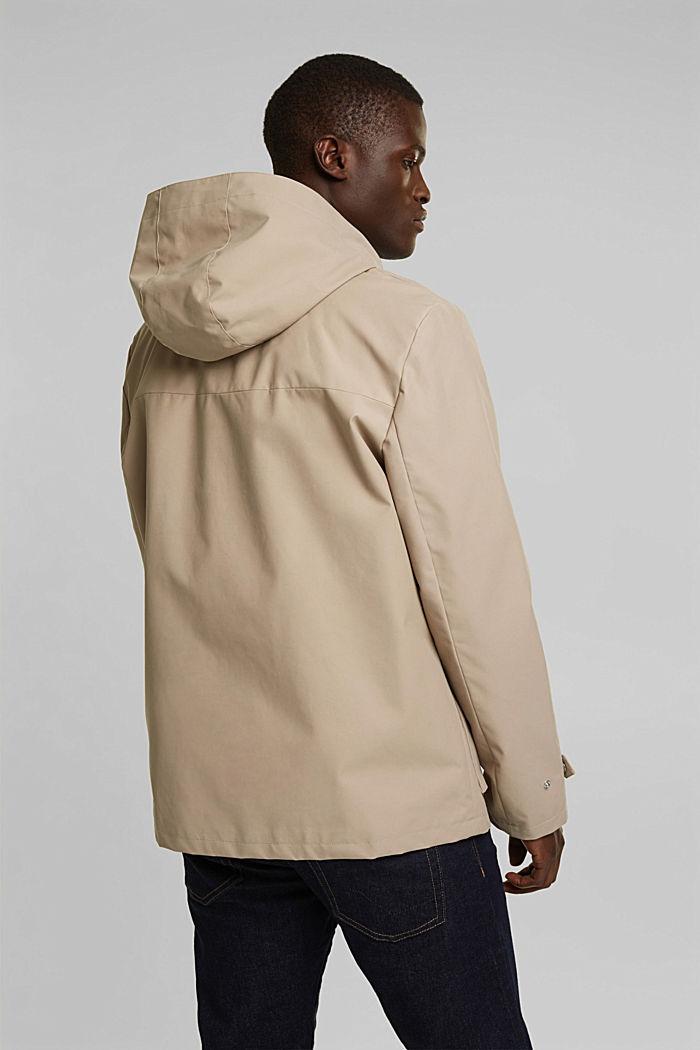 Outdoor jacket, BEIGE, detail image number 3