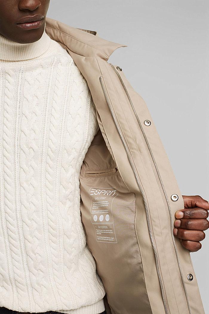 Outdoor jacket, BEIGE, detail image number 2