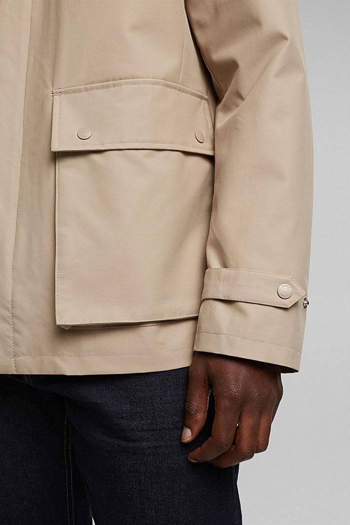 Outdoor jacket, BEIGE, detail image number 6