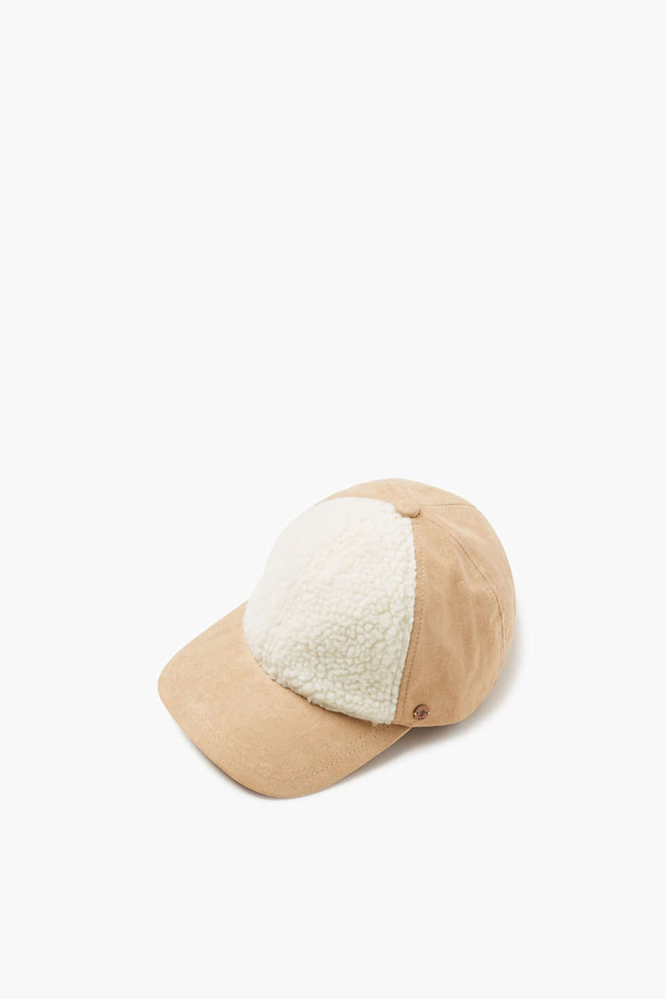 edc - Cap with teddy trim