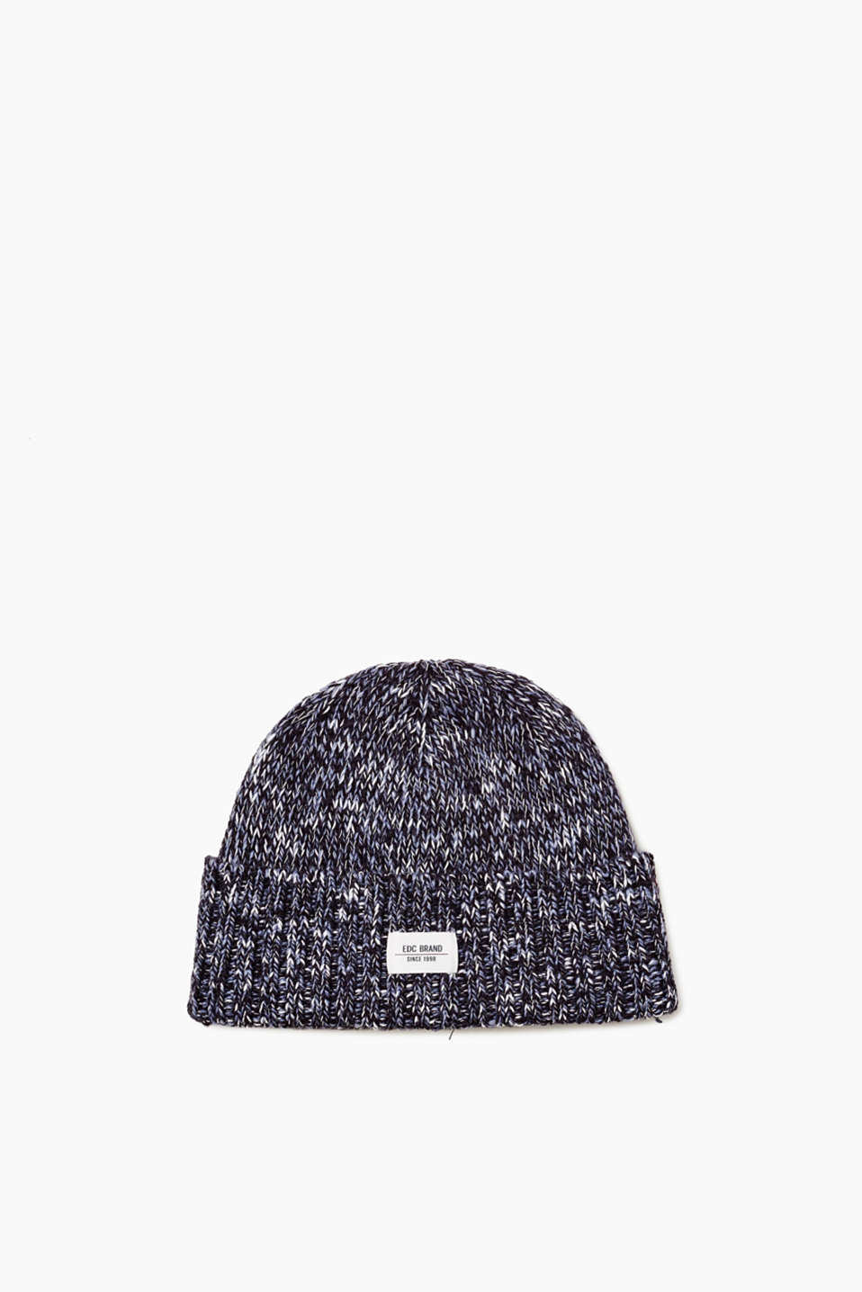 edc - Knit beanie with wool
