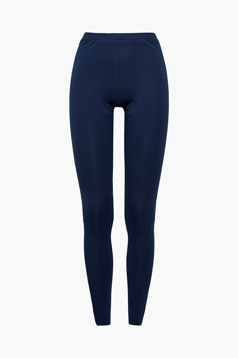 These soft leggings made from premium organic cotton with a percentage of stretch are an indispensable basic piece.