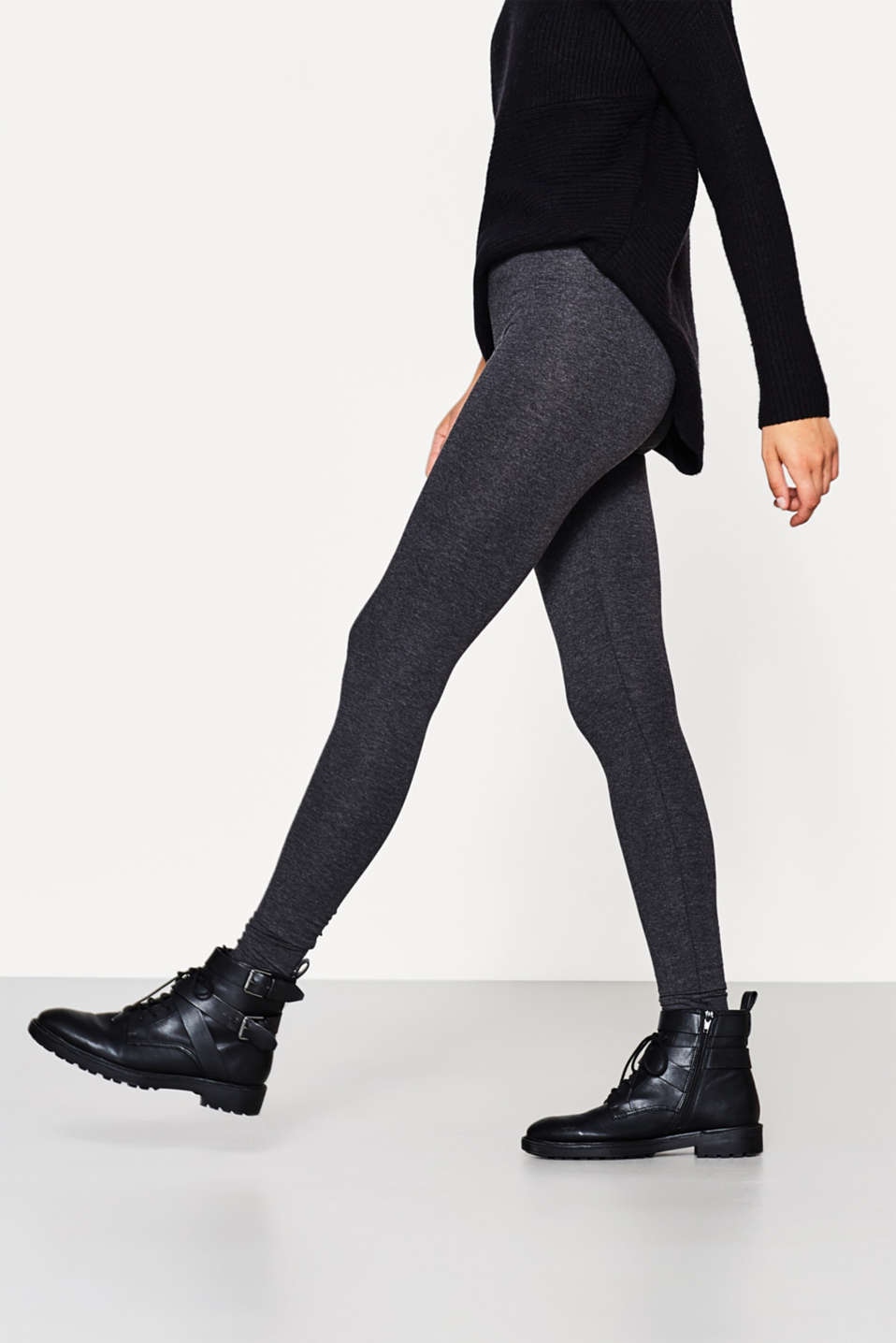 edc - Softe Leggings mit Organic Cotton
