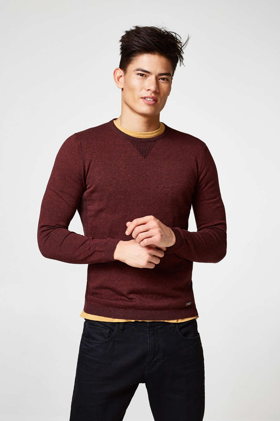 edc - Melange cotton jumper