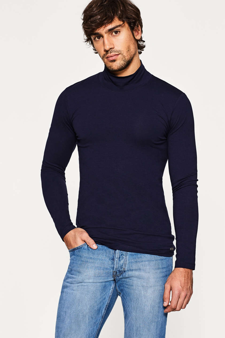 edc - Jersey long sleeve muscle top