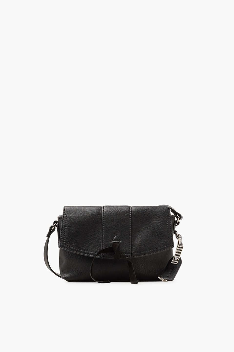 Kleine Schultertasche in Leder-Optik für Damen Black Esprit bYf9xyny