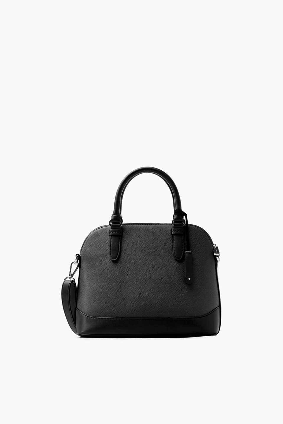 Esprit - City bag in textured faux leather