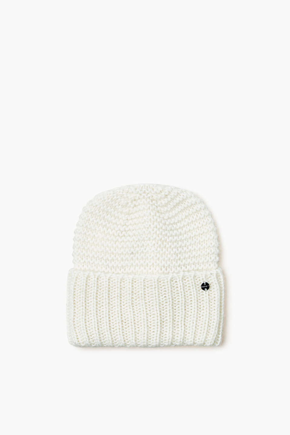 Esprit - Soft knitted beanie in a merino wool