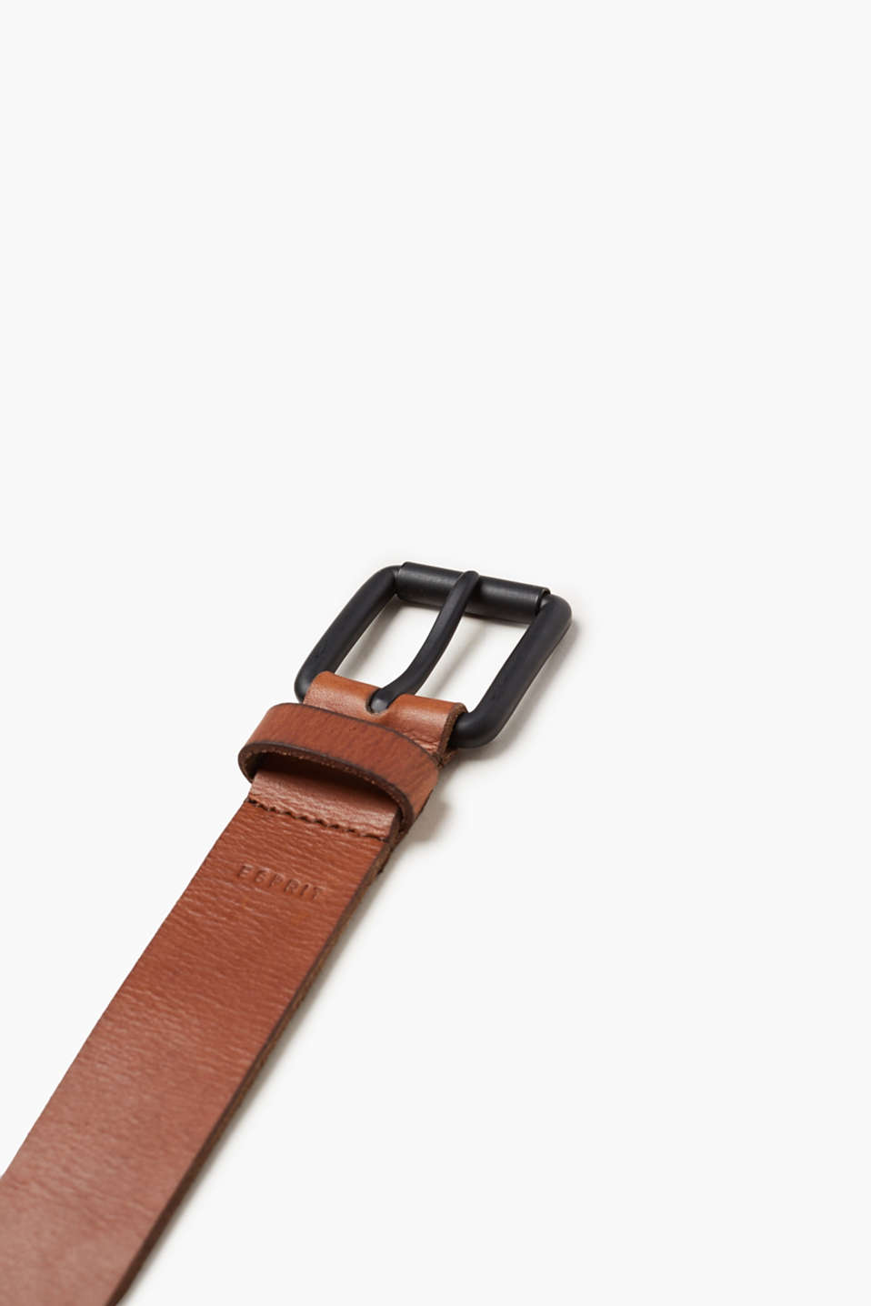 Belt with a vintage finish, leather
