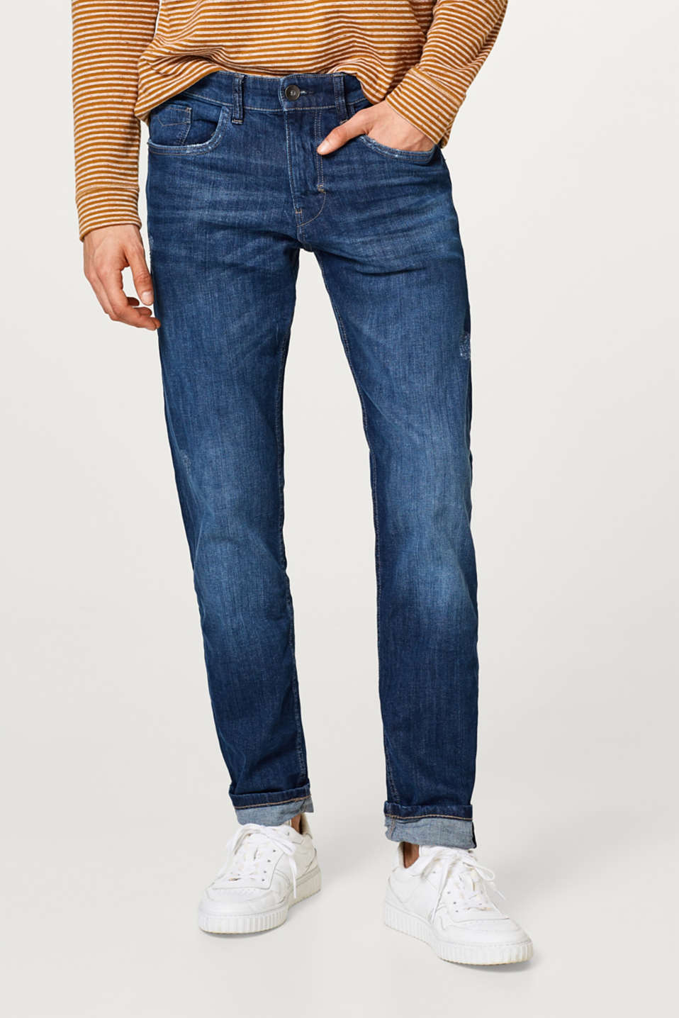 Esprit - Stretch-Denim aus Baumwolle
