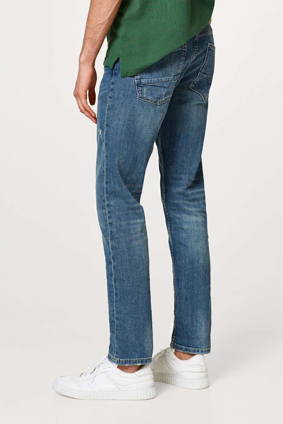 Stretch jeans in cotton
