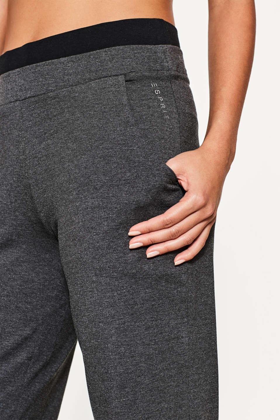 Pants aus Baumwoll-Mix mit Stretch