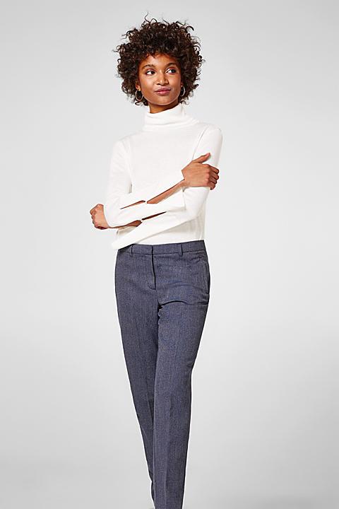Smarte Hose mit 2-tone-Struktur