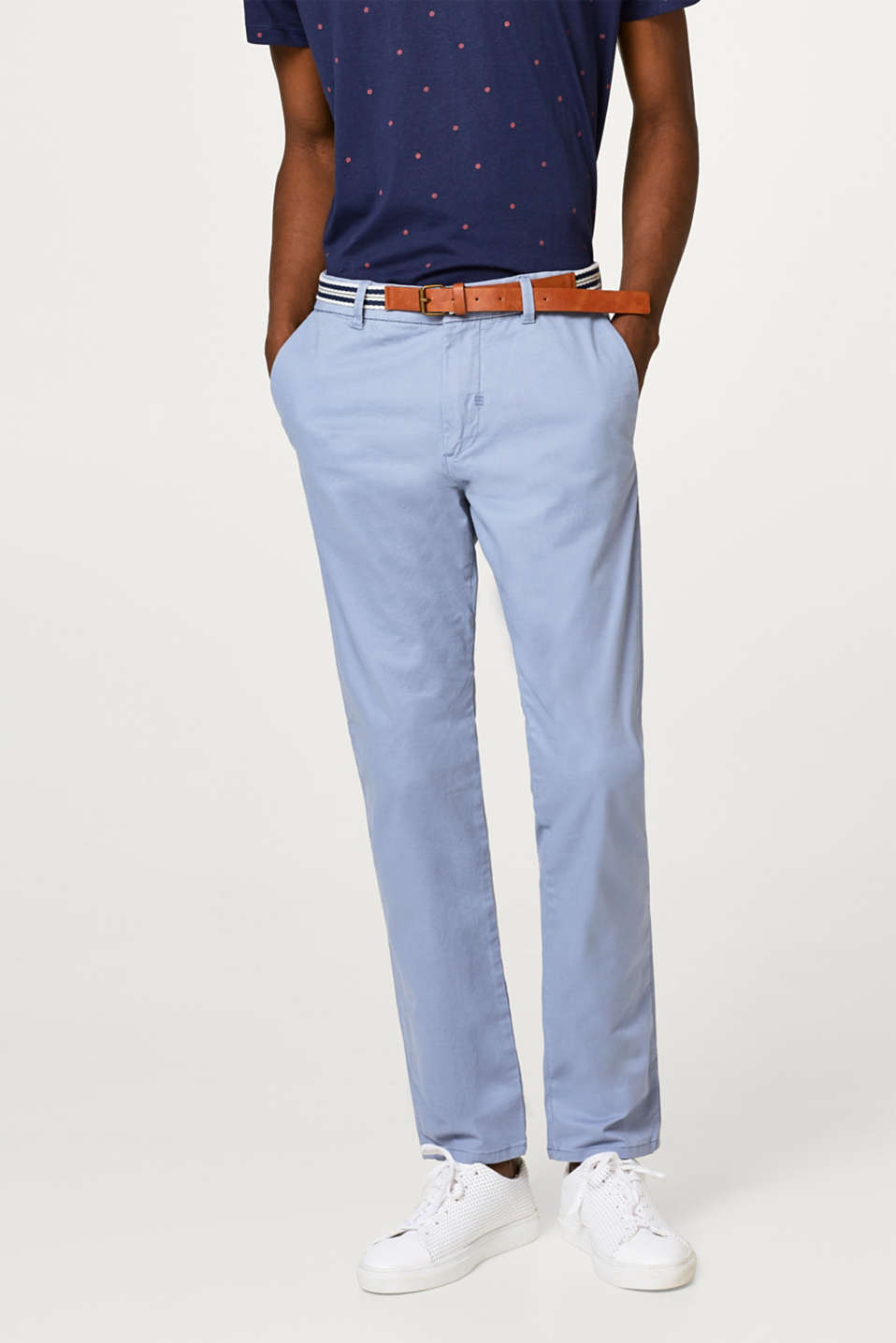 Esprit - Classic stretch cotton chinos