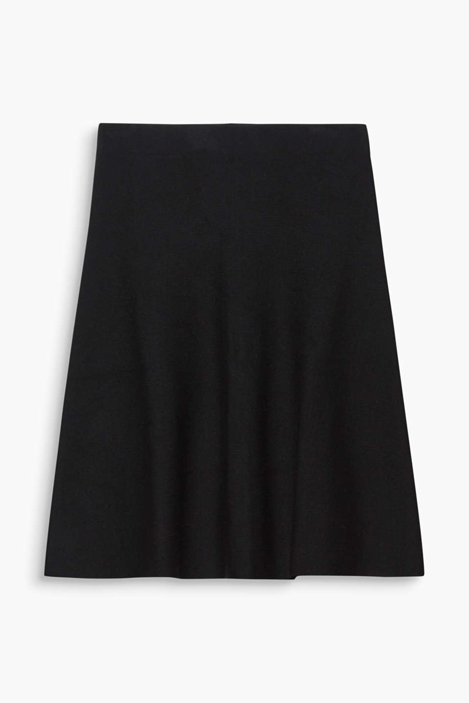This knit skirt in the latest midi length and timeless simple design makes the perfect essential piece.