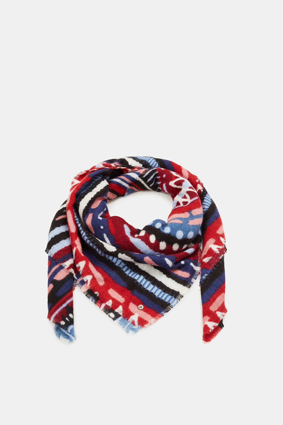 edc - Multi-colour printed scarf
