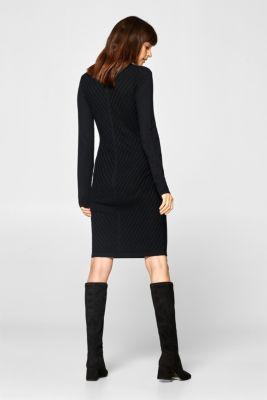 Acheter Diagonale La Edc En Texturées Pull Sur Robe Rayures À nwqf0gv