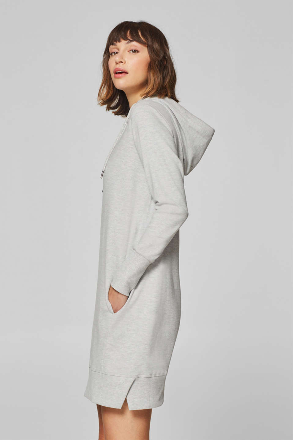 edc - Cotton blend hoodie dress