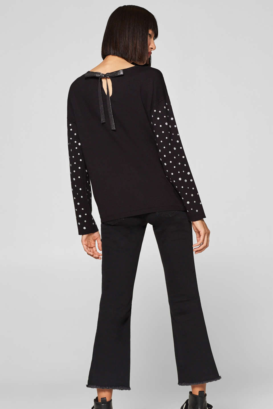 edc - Jumper with glitter polka dots