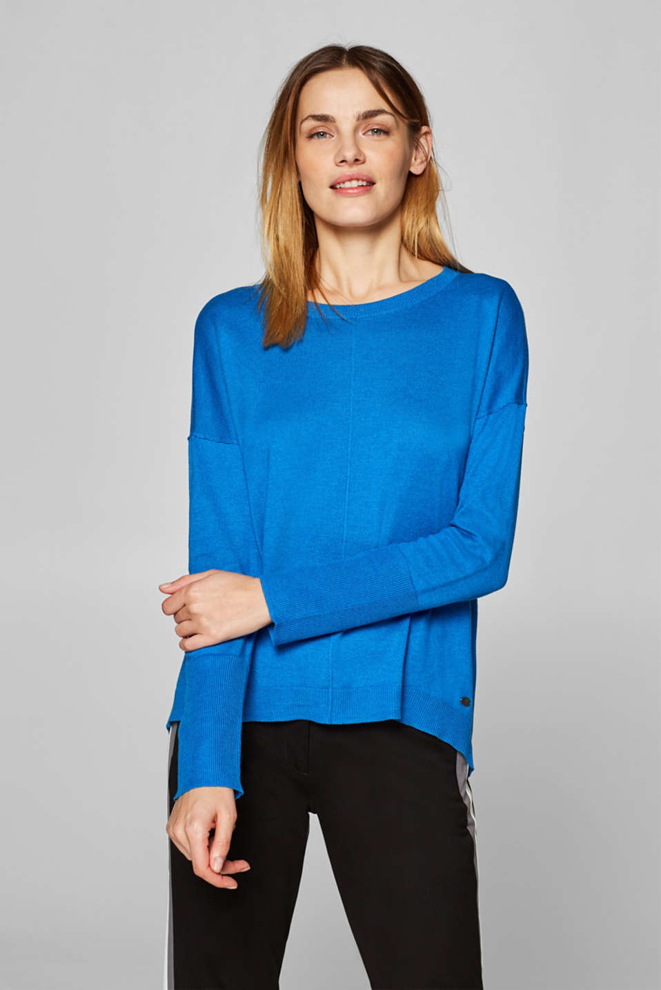edc - Oversized jumper with organic cotton