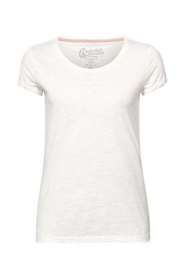 2aafb690a64 T-shirt flammé en coton biologique12