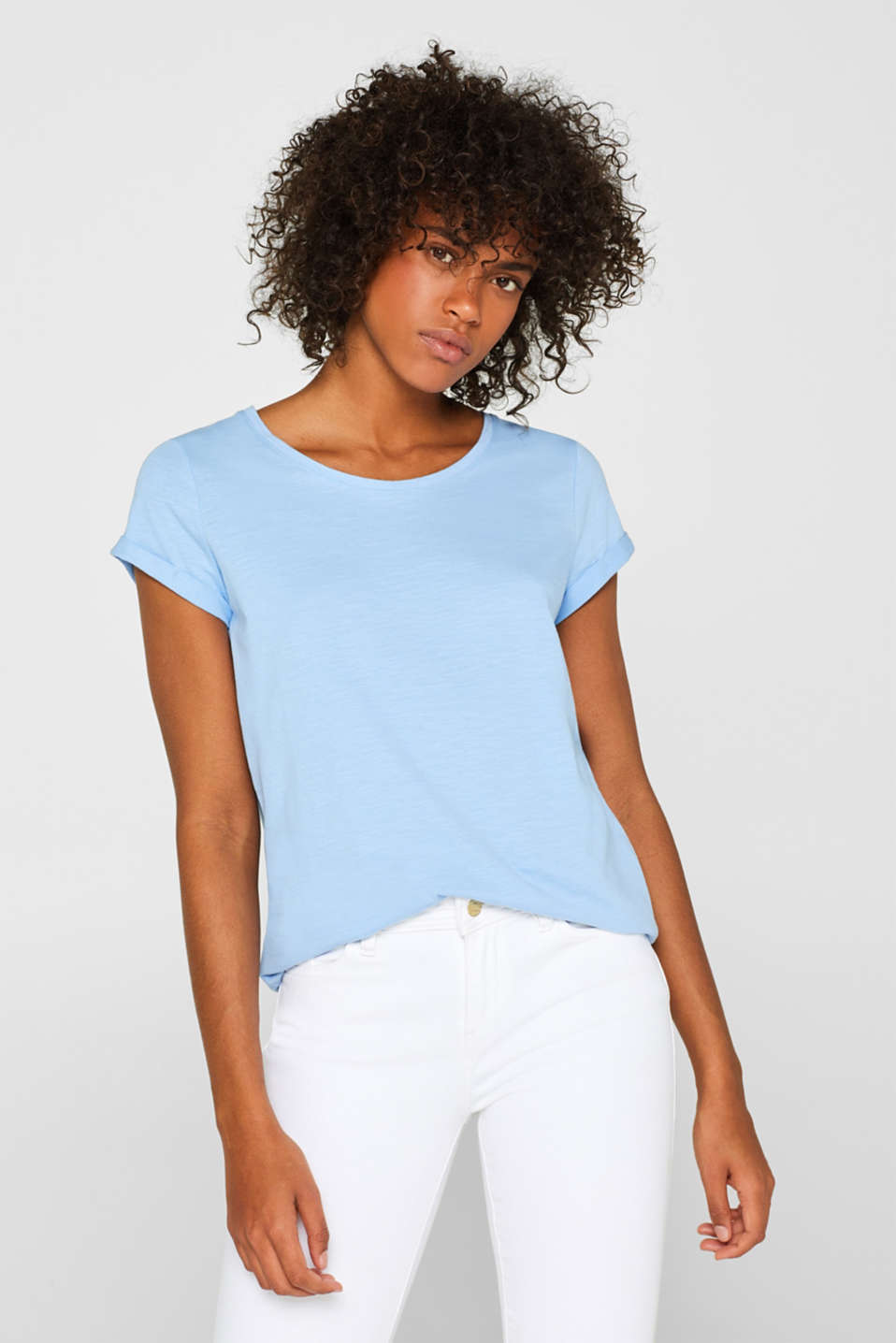 edc - Slub T-shirt with organic cotton