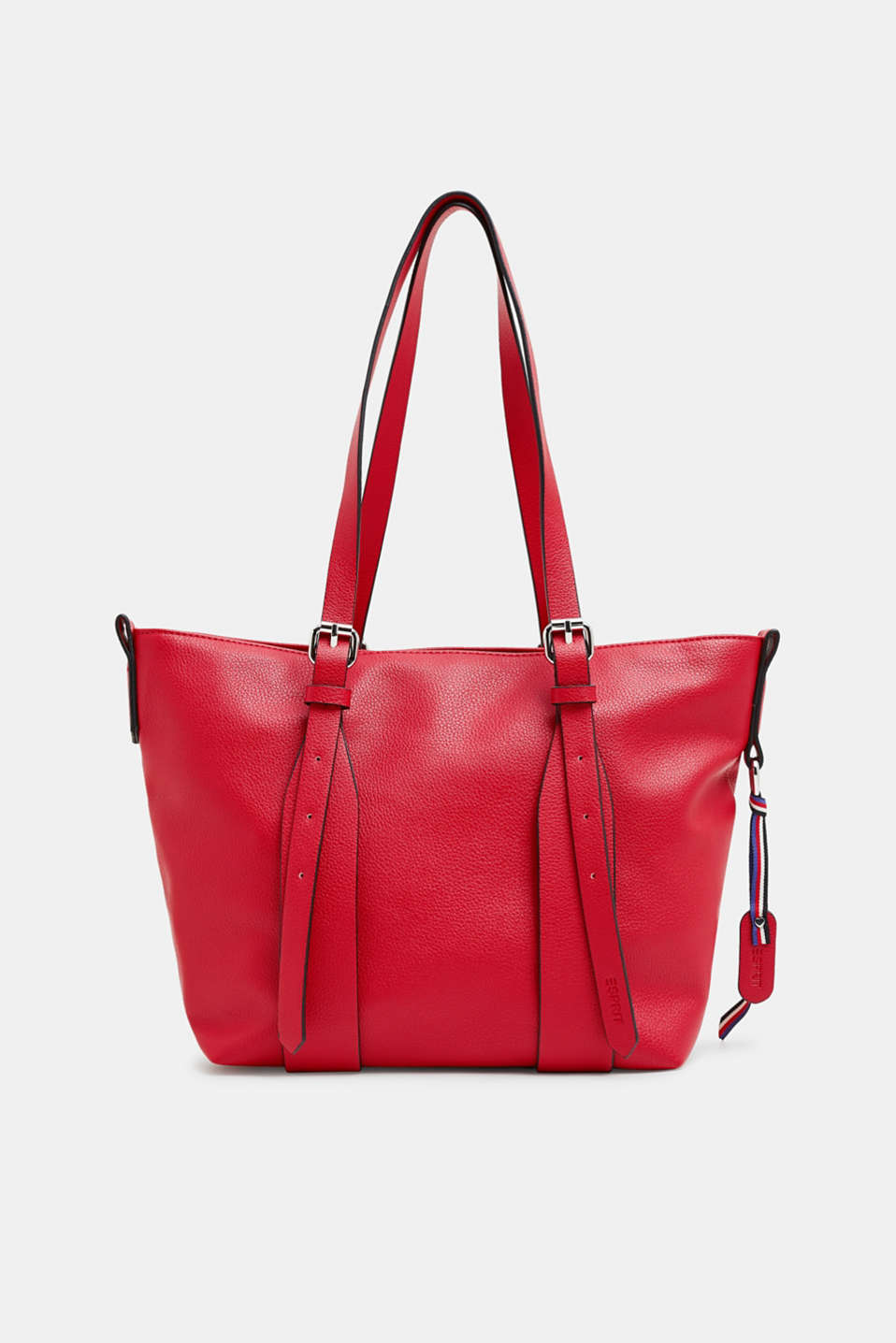 Esprit - Shoulder bag in faux leather with double straps