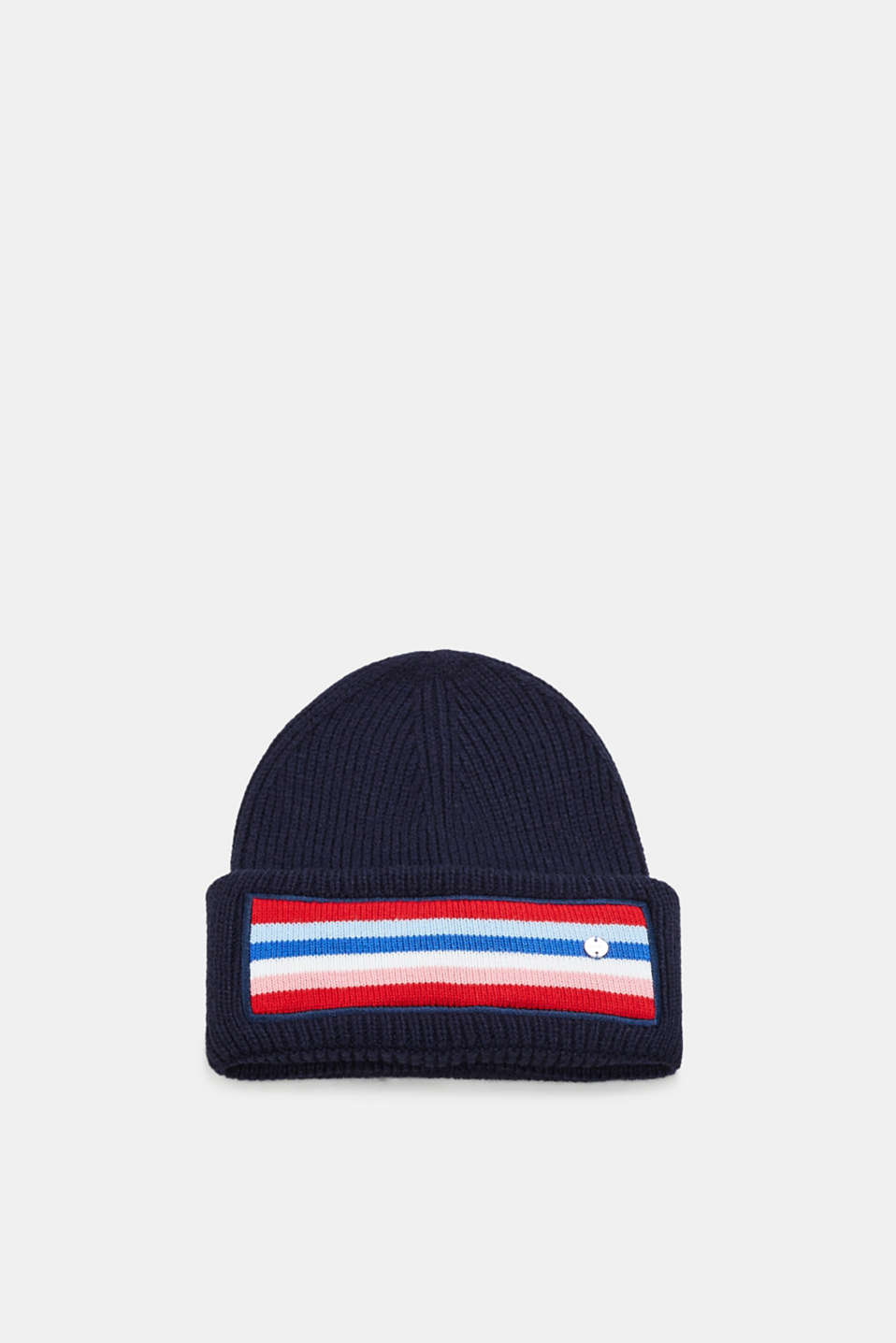 Esprit - Hat with a striped detail