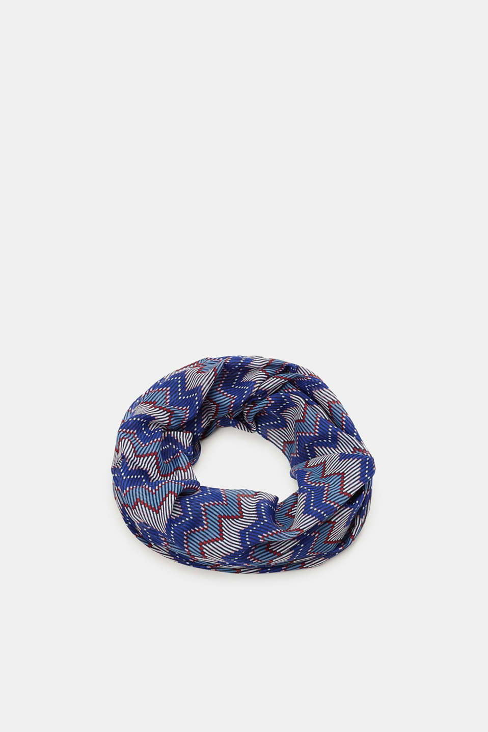 Esprit - Snood with geometric print, recycled