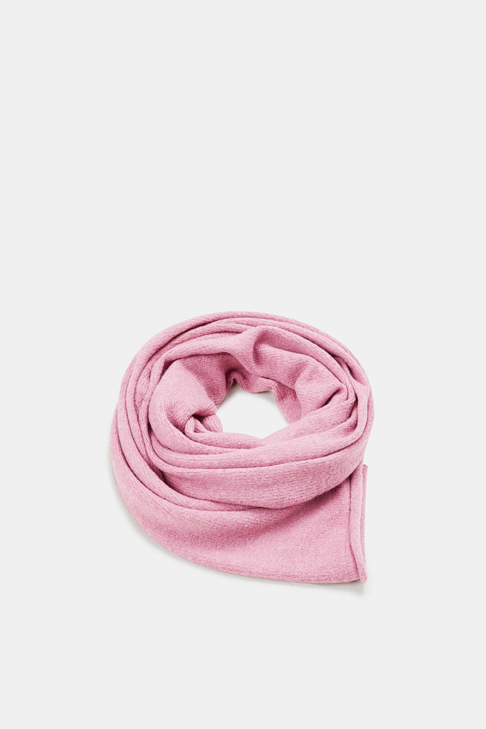 Esprit - Basic scarf with rolled edges