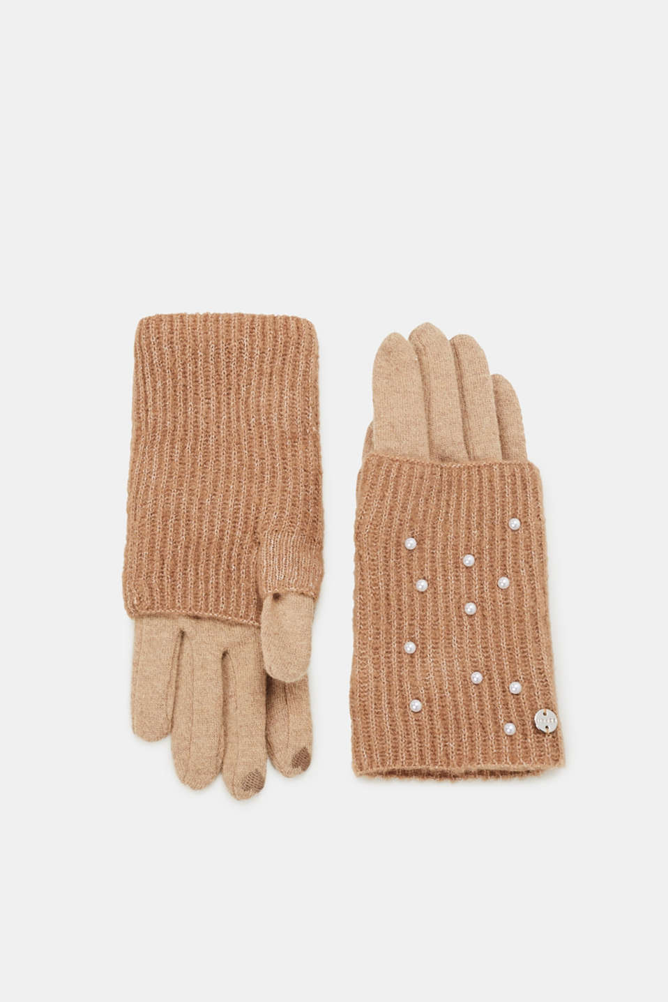 Esprit - Touchscreen gloves with beads