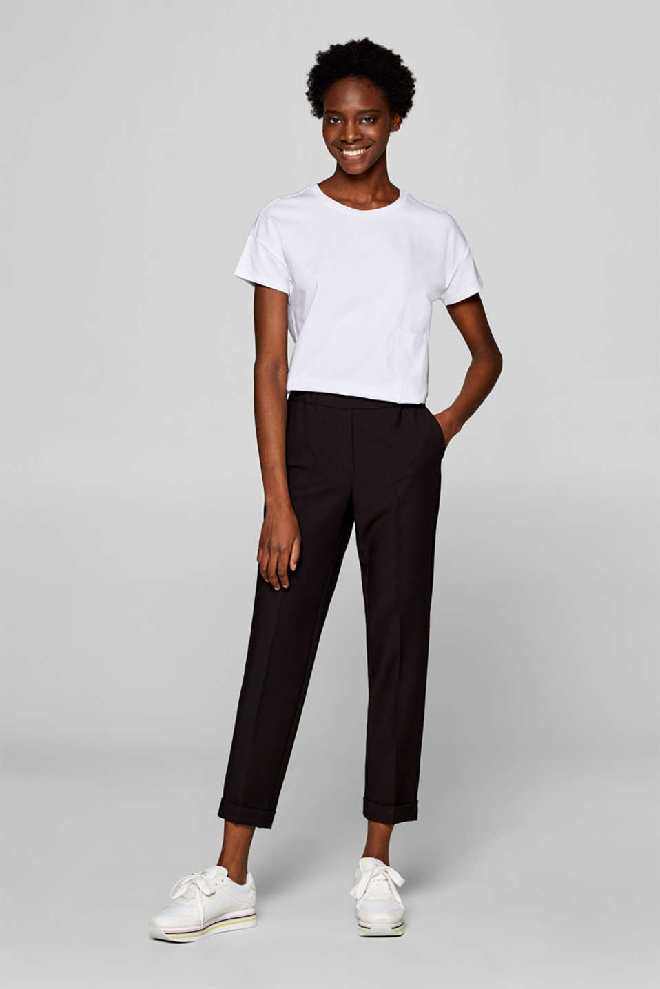 Esprit - RELAX Mix + Match Stretch-Pants