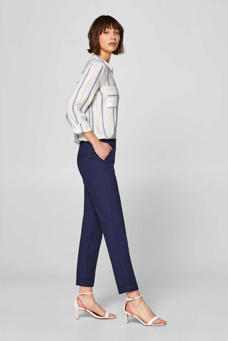 Esprit - RELAX mix + match stretch trousers