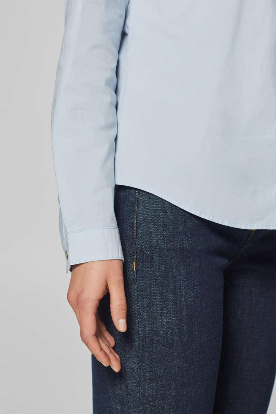 Blouses woven, LIGHT BLUE, detail image number 3