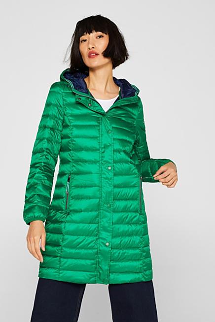 Abrigo de plumón ligero con capucha 7bd563f468c0