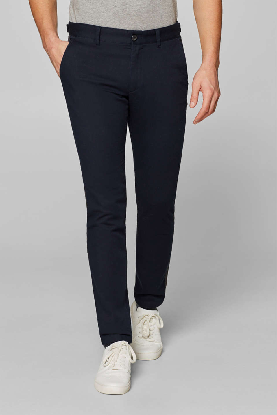 Esprit - Comfy and stretchy textured trousers