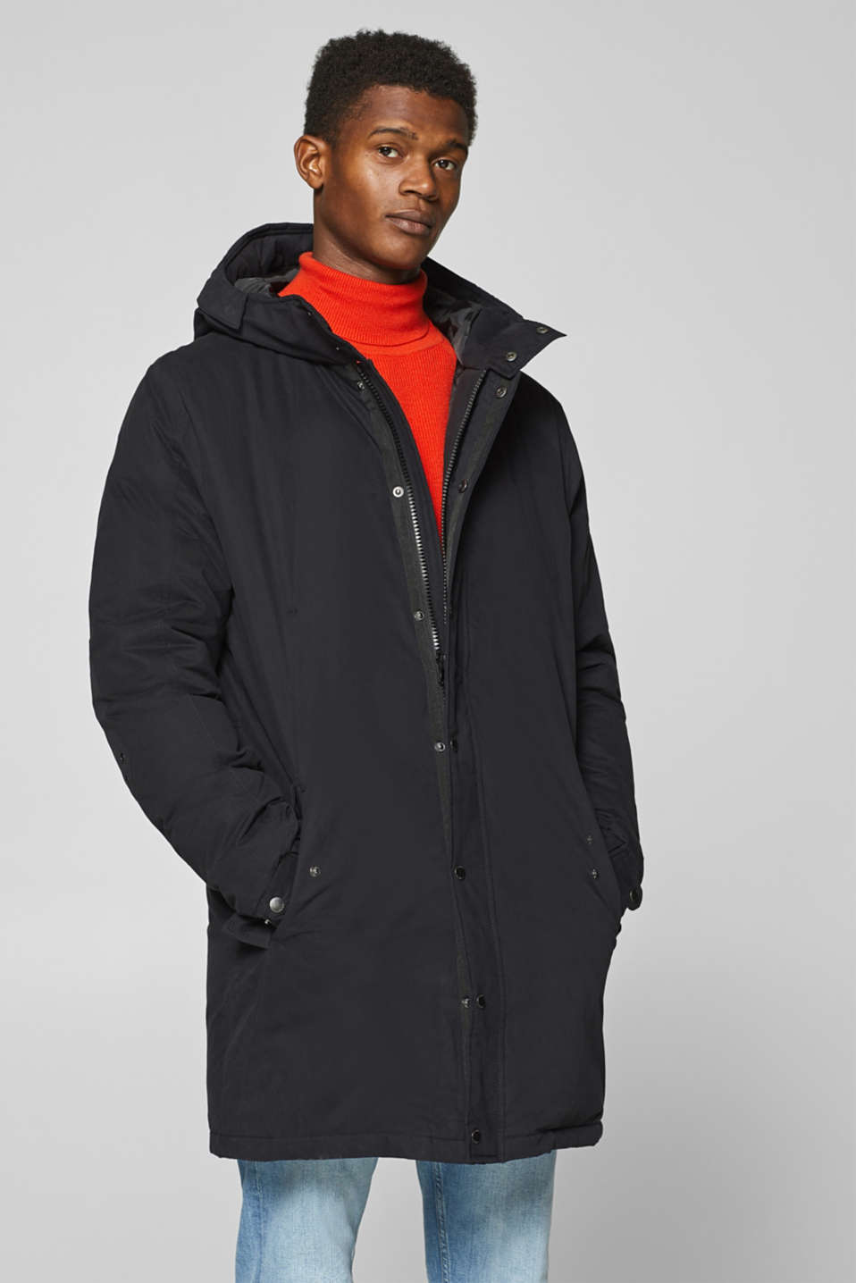 Esprit - Down parka with a hood