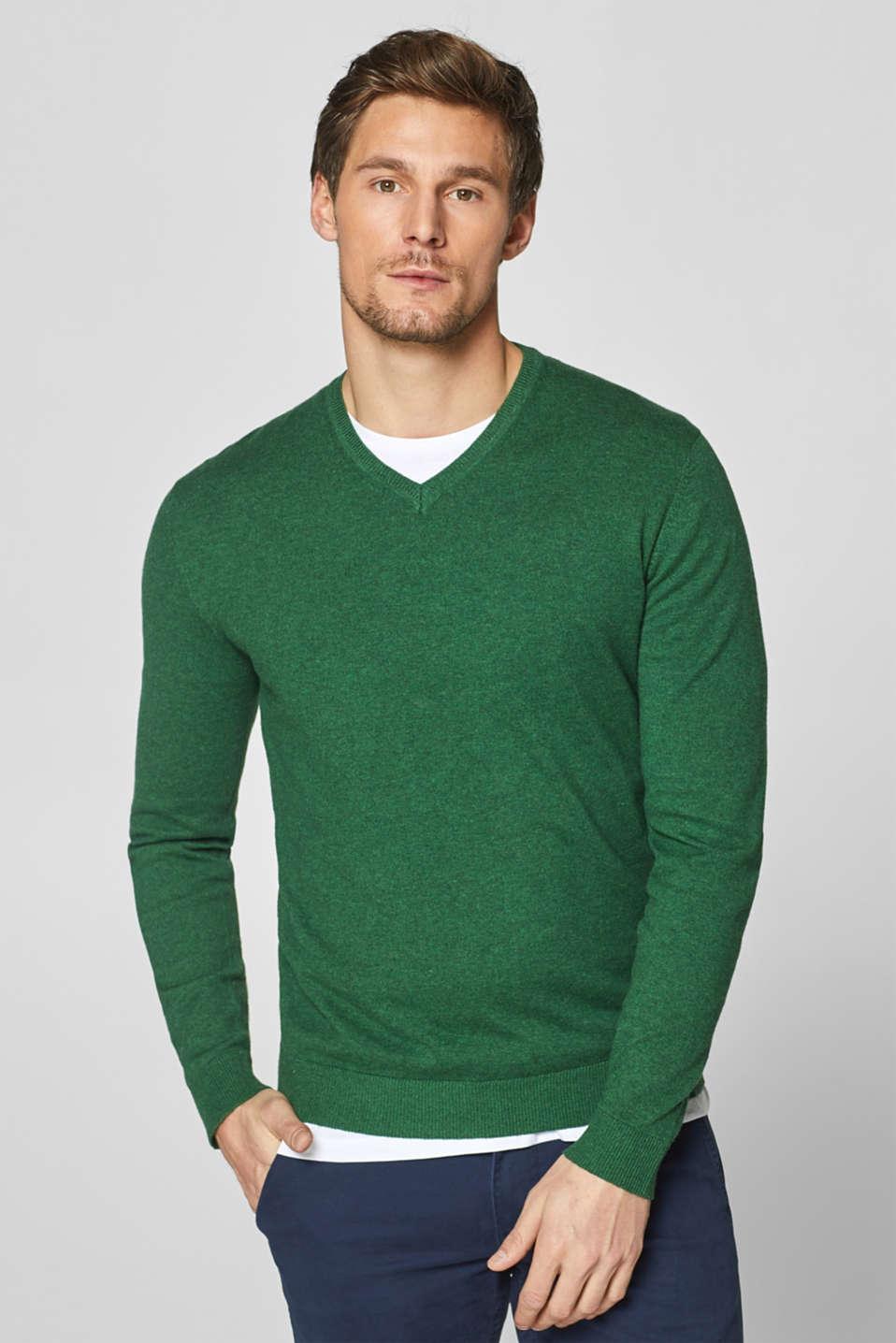 Esprit With cashmere: fine knit jumper at our Online Shop