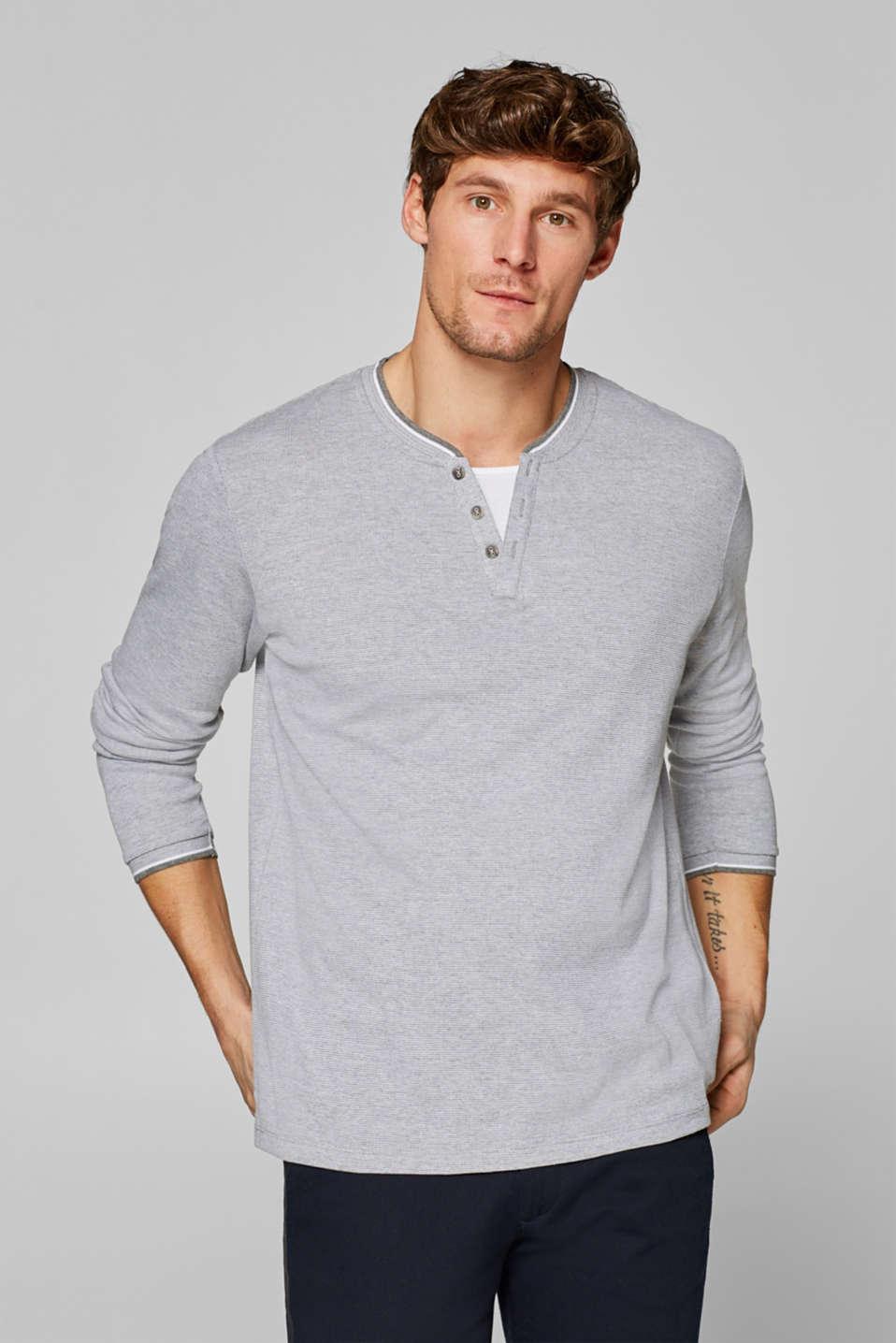 T-Shirts, MEDIUM GREY, detail image number 0